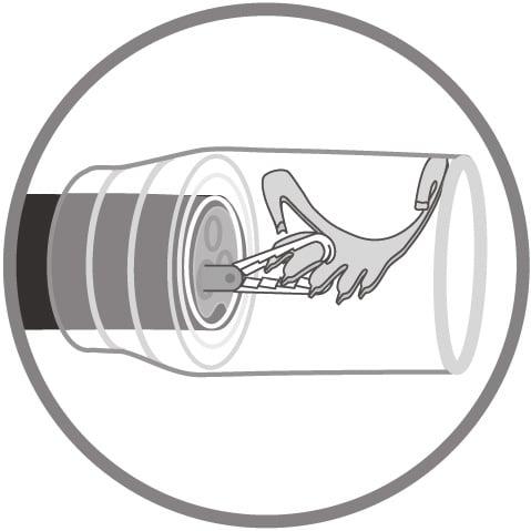 remOVE Grasper Ovesco Endoscopy AG