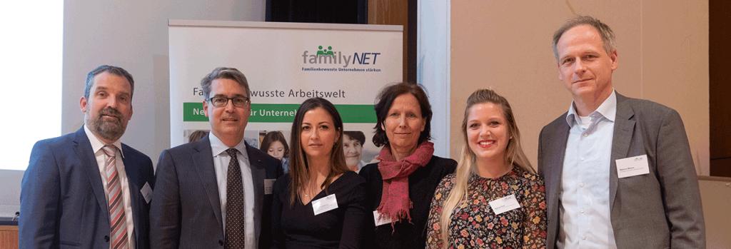 Preisverleihung des FamilyNetAwards im Haus der Wirtschaft in Stuttgart